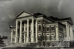 Montague County Courthouse - Joan Carroll, in Montague TX. To view or purchase my prints, canvases, cards or phone cases visit joan-carroll.artistwebsites.com THANKS! #texas #courthouse