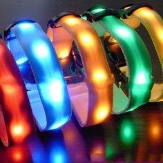 Night Safety Dog Collar Waterproof LED Pet Flashing Collar - US$2.57 - Banggood Mobile