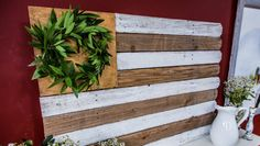 Home & Family: Reclaimed Wood Fence Flag