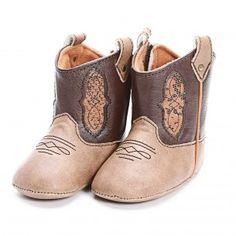 Baby Deer Brown Infant Boots $26.99