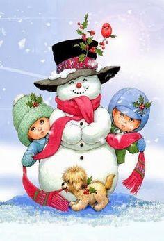 I would build more snowmen for my kids. #Snowman #formychildren