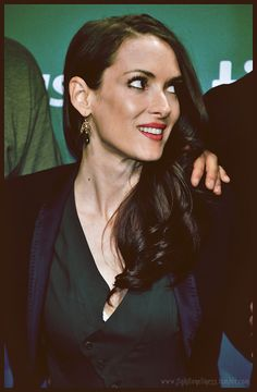 Winona Ryder at TIFF (2013). One of the most beautiful faces... ever.