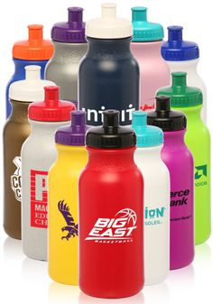 Can choose body and lid colors White Value Wholesale Water Bottles, Wholesale Water Bottles, Logo Sports Bottles Wholesale Water Bottles, Cheap Water Bottles, Custom Water Bottles, Personalized Water Bottles, Promotional Water Bottles, Best Strap On, Gymnastics Birthday, Hydrating Drinks, Promotional Events