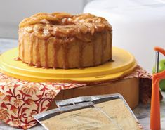 Microwave Cake Recipes: Apple Upside Down Cake