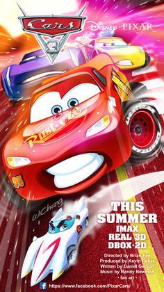 THE CARS#THE CARS 3#THE CARS POSTER#Production company Walt Disney Pictures Pixar Animation Studios#McQueen's#MACH5#DISNEY MOVIE#PIXAR MOVIE#SUMMER MOVIE#COMICl#cartoon#movie#sketch#illustration#comic#manga#drawing#wallpaper#fan art#by wolf chung#肥仔聰
