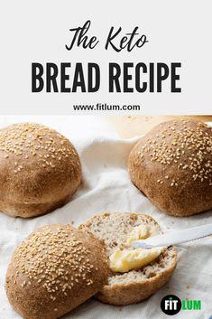Awesome Latest: The Keto Bread Recipe Spread some butter on it and you will feel that you are having the real thing. The keto bread has a pleasing crispy crust and a moist soft center. Savor this hot keto bread straight out of your oven. Best Keto Bread, Low Carb Bread, Low Carb Keto, Low Carb Recipes, Bread Recipes, Healthy Recipes, Oven Recipes, Coconut Recipes, Healthy Meals
