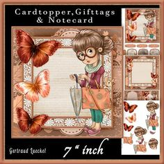 Cardtopper lovely autumn 606 on Craftsuprint - View Now!