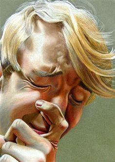 Scholastic art awards silver key in drawing Self-portrait Ben Being Ben