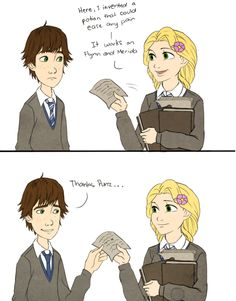 Astrid and Hiccup in Hogwarts, Part 4/9