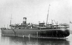 SS Rhona, a passenger ship built by R&W Hawthorne, Leslie at Hebburn for British India Steam Navigation Co. Completed in 11/26.. 8602grt, 461ft long, 62ft beam, 30ft draught. Twin screws powered by 2 x Quadruple expansion steam recips giving 934nhp. She was to be lost whilst carrying US troops from Oran to India, She sank on 26/11/43 after being struck by a guided missile from a German aircraft with the loss of 1138 troops & crew.