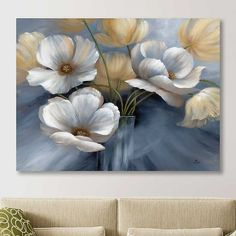 Our Scent of Summer I Giclee Canvas Art Print offers a breathtaking bouquet of brushed flower petals. You'll love the look of this whimsical, windswept design. Flower Painting Canvas, Flower Art, Flower Petals, Acrylic Art, Canvas Art Prints, Canvas Wall Art, Wall Art Decor, Art Drawings, Art Projects