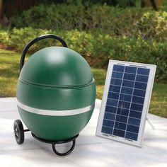The Solar Powered Mosquito Abatement System - Hammacher Schlemmer
