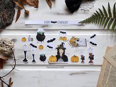 Halloween01 Digimon, Bullet Journal, Halloween, Halloween Labels, Spooky Halloween