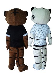 Smart Colorful Sock Monkey Mascot Costume Mascotte Small Monkey Adult With Coloful Stripes Body Small Eyes No.1015 Free Ship Mascot Costumes & Accessories