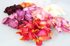 Now you know what to do with those leftover Valentine's Day roses. Dry those petals!