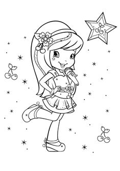 Top 20 Free printable Strawberry Shortcake Coloring Pages Online ...