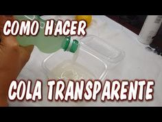 COMO HACER COLA TRANSPARENTE PARA ARTESANIAS/LAS COSAS DE LA LOLA - YouTube How To Make Glue, Glue Art, Diy And Crafts, Arts And Crafts, Homemade Art, Butterfly Painting, Diy Projects To Try, Diy Painting, Decoupage