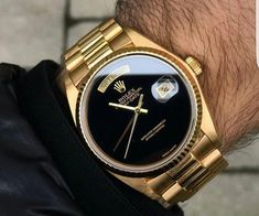 Wow.  That is a gold watch!