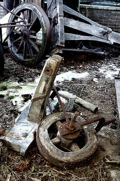junk yard wheels