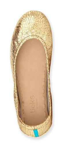 Golden Glitz Tieks are simply captivating! These h