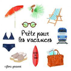 Prête pour les vacances -Print Item Collection-