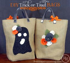 Exciting news!! I have completed my first MAJOR sewing project! W00T!! Recently a dear friend with an absolutely adorable set of twins asked me to make them trick or treat bags for Halloween. It sounded like something I mightbe able to achieve, especially now that I have a pillow cover and another project I haven't [...]