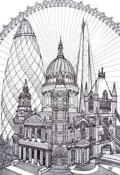 """iColor """"Architecture"""" ~ London"""