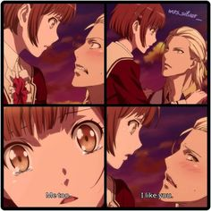 """Anime: Dance with Devils episode) Ritsuka x Mage Omg, so cute! They could be such a cute couple! Romantic Anime Couples, Cute Anime Couples, Me Me Me Anime, Anime Love, Dance With Devils, Manga Mania, Anime Japan, Anime Comics, Anime Art"