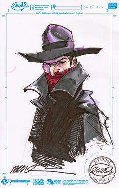 The Shadow by Humberto Ramos