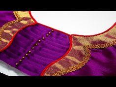 paithani sarre blouse back neck design Brocade Blouse Designs, New Saree Blouse Designs, Patch Work Blouse Designs, Simple Blouse Designs, Blouse Back Neck Designs, Stylish Blouse Design, Saree Design Patterns, Designer Blouse Patterns, Blouse Neck Models