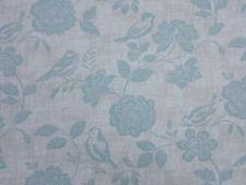 Bird Garden Duckegg Curtain Craft Upholstery Designer Fabric