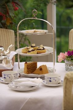 Afternoon Tea in the Conservatory - Ballymaloe House, Ireland - one of my favorites!
