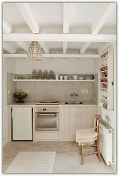 Art Symphony * A Greek Island Home * Kitchen
