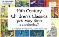 Classic children's books you might have missed but are still worth reading aloud to your kids! Classic Literature, Classic Books, Reading Lists, Book Lists, Enough Book, What To Read, Might Have, Read Aloud, Childrens Books