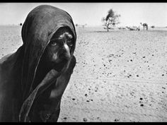 Woman escaping the drought in the Sahel region of Africa. Powerful photo by Sebastiao Salgado
