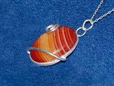 Another dazzling necklace Carmen1 / Lace Agate by gejewellery