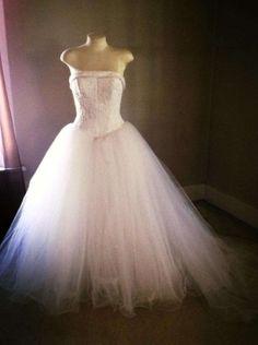 David's Bridal Michelangelo Wedding Dress $305