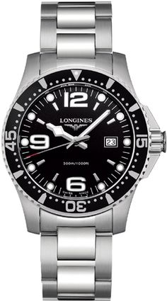 Check price Hot Longines Sport collection HydroConquest Men Watch Onsale Top Philip Stein Men NBO RB antique Chronograph Dial Watch – On Sale Cool Watches, Rolex Watches, Casual Watches, Wrist Watches, Longines Hydroconquest, Citizen Watch, Luxury Watches For Men, Stainless Steel Bracelet, Smartwatch