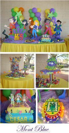 11 Best Hi 5 Bithday Party Theme Images