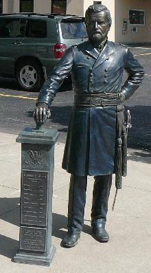 Grant Statue in Rapid City, South Dakota