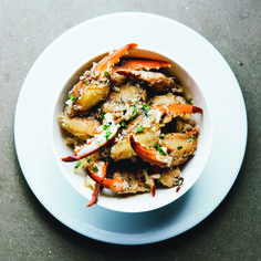 Marinated Louisiana Crab Claws. Recipe from Chef Melissa Martin of Curious Oyster Co., New Orleans, LA. Photo by Rush Jagoe.