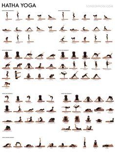 Hatha yoga sequences