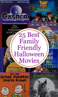 25 Best Family Friendly Halloween Movies