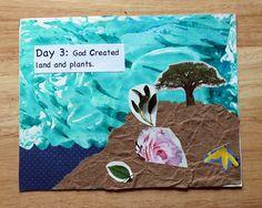 Creation Book craft for kiddos