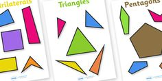 A+set+of+handy+2D+shape+posters,+featuring+both+the+regular+and+irregular+shapes.+Great+for+classroom+decoration+or+for+use+as+flashcards+to+discuss+key+characteristics+of+certain+shapes.