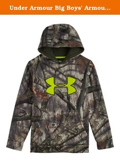 Under Armour Big Boys' Armour Fleece Scent Control Hoodie Youth Small Mossy Oak Treestand. ots of hunters already depend on Armour¨ Fleece to keep them warm & light in the woods. Well now Under Armour`s taken that to the next level with exclusive UA Scent Control technology to keep you undetected.FEATURES:LOOSE: Full loose fit for enhanced range of motion & breathable comfort no matter where your workout takes you.Exclusive UA Scent Control technology lasts longer & works better keeping…
