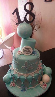 Debutante's cake