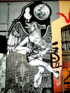 Ouch - street art - Marseille 6, rue pastoret (aout 2014)