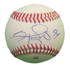 SF Giants Sergio Romo signed Rawlings ROLB leather baseball w/ proof photo.  Proof photo of Sergio signing will be included with your purchase along with a COA issued from Southwestconnection-Memorabilia, guaranteeing the item to pass authentication services from PSA/DNA or JSA. Free USPS shipping. www.AutographedwithProof.com is your one stop for autographed collectibles from San Francisco Bay Area Sports teams. Check back with us often, as we are always obtaining new items.
