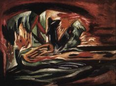 Composition with cubic forms by Jackson Pollock 1934 -1938   jr
